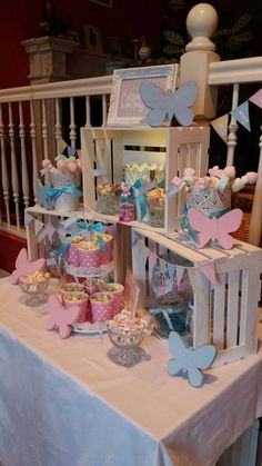 Ankerwerfer, Candy Bar, Pastell, Mädchengeburtstag - Pin to Pin Candy Table, Candy Buffet, Dessert Table, Spa Party, Baby Party, Sweet Carts, Baby Shower Candy, Baby Showers, Cinderella Wedding