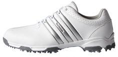 Zapatos de golf Adidas 360 TRAXION WD Wide. Zapatos de golf Adidas con horma ancha  La entresuela de EVA Soft cuenta con ranuras profundas de flexión para la flexibilidad y la comodidad puremotion® amortiguación. 100% Waterproof.