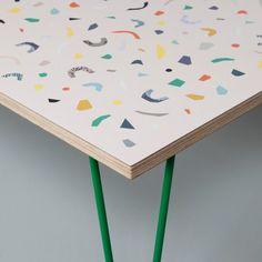 Terrazzo Table (Nude)