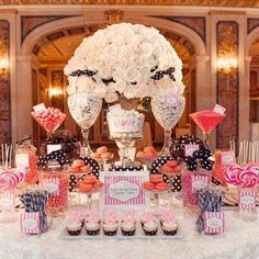 Fun dessert table for any special event or wedding!