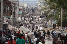 haiti earthquake 12.01.2010 How natural & human disasters project the image of dystopia.