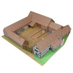 3D palapeli Paperimalli Paperityöt Pienoismallisetit Kuuluisa rakennus Simulointi DIY Klassinen Unisex Lahja 3d Puzzles, Unisex