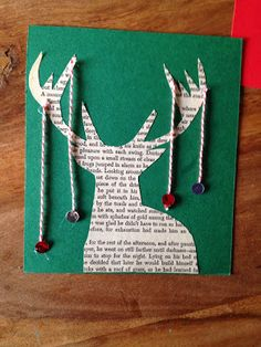 tarjeta navideña hecha a mano                                                                                                                                                                                 Más