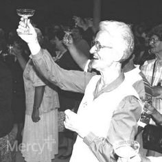 """#Mercy Sisters offer an Irish toast to our friends and family. Cheers to a happy and healthy New Year!  """"In the New Year, may your right hand be always stretched out in friendship, but never in want."""" #throwbackthursday #tbt #newyear"""