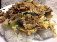 沖縄のチャンポンつくってみた Grains, Rice, Meat, Chicken, Kitchen, Food, Cuisine, Kitchens, Meals
