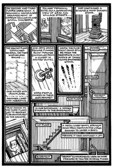 The layout of the HH Holmes Murder Castle  chicago