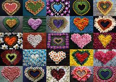 Flowers and hearts shows love can conquer all in this fun to assemble heart collage puzzle with 2000 pieces. Made by Schmidt in Germany Schmidt, 2000 Piece Puzzle, Heart Collage, Collage Making, Love Can, Bloom, Puzzles, Quilts, Hearts