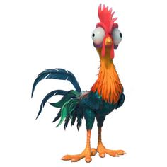 Heihei is a character in the 2016 Disney animated feature film Moana. He is a rooster that. Moana Disney, Film Disney, Disney Art, Disney Pixar, Disney Sidekicks, Disney Wiki, Disney Characters, Moana Birthday Party, Moana Party