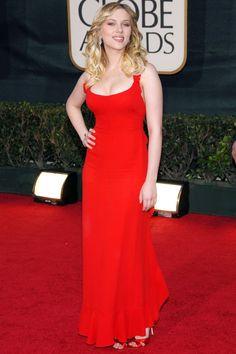 Scarlett Johansson - Calvin Klein Collection - Golden Globes 2006