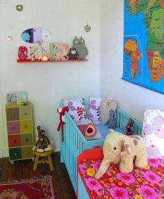 Berço Colorido : coloque mais alegria no quarto do seu bebê!