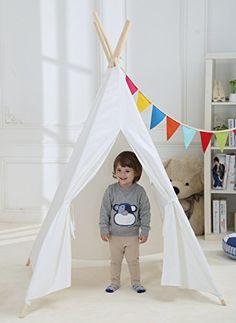 Dream House Sturdy Children Playhouse Canopy Tent