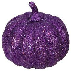 Glitter pumpkins!