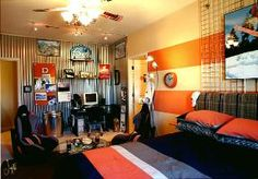 I think my teenage son would love this room.