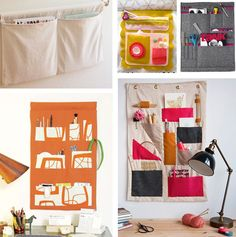 DIY organizers to help keep out the clutter.