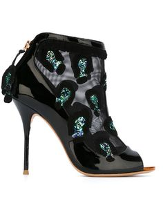 Shop Sophia Webster embellished mesh ankle boots  in Smets from the world's best independent boutiques at farfetch.com. Shop 300 boutiques at one address.