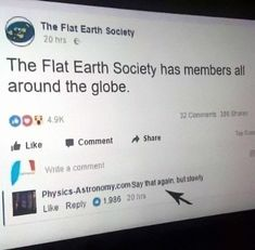 30+ Flat-Earthers Memes – Funnyfoto | Funny Pictures - Videos - Gifs - Page 18