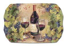 KellerCharles Vintage Wine Tea Tray >>> You can find more details by visiting the image link.