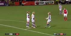 Brilliant Soccer Players Fake Argument, Trick Opponents And Score Goal
