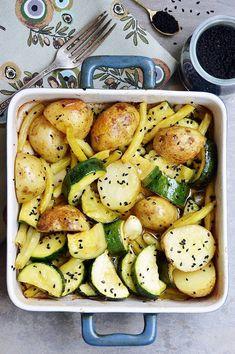 Moja smaczna kuchnia: Obiady na 7 dni Bento, Potato Salad, Healthy Recipes, Healthy Food, Food And Drink, Potatoes, Cooking, Ethnic Recipes, Impreza