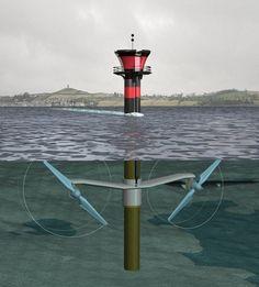 Hydro wave power