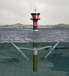 This discusses marine power generation techiniques including wave and tidal power. Many areas of the world expereince consistant and powerful ocean currents that can be used to harness renewable, clean energy!
