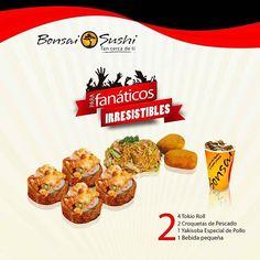 Disfruta de nuestros deliciosos platos solo para fanáticos irresistibles, 3 exquisitas combinaciones para que disfrutes de nuestros más exquisitos rolles con los mejores ingredientes en un solo lugar, bonsai sushi...tan cerca de ti. #food #foodporn #instafood #picoftheday #photo #photooftheday #igers #igersvenezuela #instagram #instagramers #eat #eatclean #sushi #sushilovers #me #she #love #health #healthfood  Yummery - best recipes. Follow Us! #foodporn