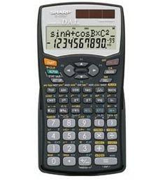 Sharp EL-506 Direct Algebraic Logic (D.A.L) Calculators