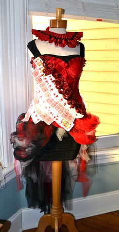 Queen of hearts, costume, women's size 8-12, Anyone interested in purchasing my costume from last year? only worn once!