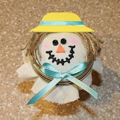 thanksgiving jars | jar and fill him with tasty candies. A great project for Thanksgiving ...