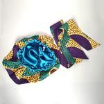 African Print Head Wrap With Satin-Lined(Enchanted Lady) – Anewow