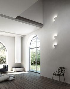 LEAF - Recessed wall lights from Buzzi & Buzzi Minimalist Interior, Modern Interior Design, Interior Architecture, Interior And Exterior, Luxury Interior, Contemporary Design, Decoration Inspiration, Interior Inspiration, Recessed Wall Lights