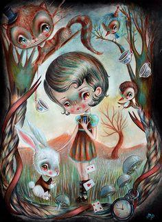 Alice in Wonderland by Paolo Petrangeli