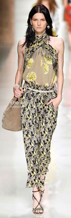 Etro Spring 2014 Collection