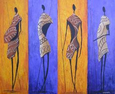 African Art gallery for African Culture artwork, abstract art, contemporary art daily, fine art, paintings for sale and modern art African Paintings, Contemporary Art Daily, Africa Art, African Mud Cloth, Modern Artists, African Culture, Native Art, Tribal Art, Cartoon Drawings