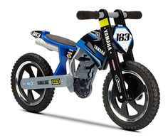 Yamaha Children's Balance Bikes off road style cool balance bike