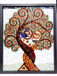 Tree of love art Love Tree of life art Glass painting Wall decor Family tree Stained glass Etsy Modern art Glass art Original art Tree of love art Love tree Tree of life art Glass Painting Patterns, Glass Painting Designs, Paint Designs, Tree Of Life Art, Tree Art, Tree Of Life Painting, Frida Art, Romantic Paintings, Interior Paint Colors
