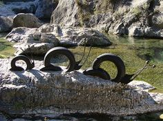 Park Decor On Pinterest Recycled Tires Old Tires And Tire Swings
