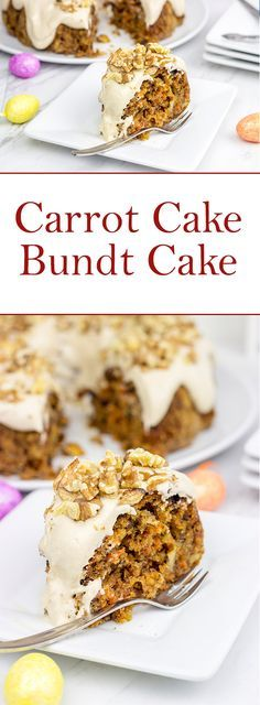 Bring on the Easter egg hunts and Spring baking with this Carrot Cake Bundt Cake!