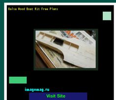 Balsa Wood Boat Kit Free Plans 184518 - The Best Image Search