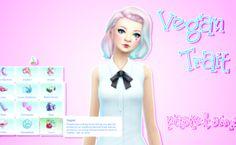 Vegan Trait at Pastel Sims via Sims 4 Updates Los Sims 4 Mods, Sims 4 Game Mods, Sims Games, Sims 4 Cc Packs, Sims 4 Mm Cc, Sims 1, Sims Traits, Pelo Sims, Sims 4 Gameplay