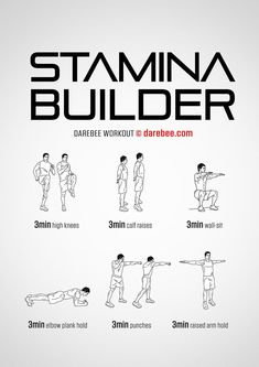 Stamina Builder Workout #soccerworkouts #bodybuildertips