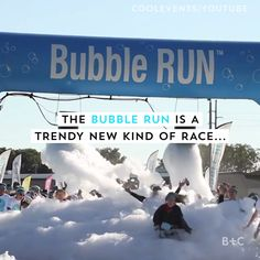 This 5k race is covered in bubbles! Watch this video to learn more about the Bubble Run and why you should sign up for this fun, creative, themed race.