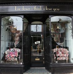 Love the name of this shop in London!