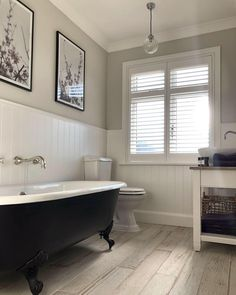 So how gorgeous is this bathroom makeover from Totally love all the details to create such a serene space, our 'Skandi… 1930s Bathroom, Bungalow Bathroom, Victorian Bathroom, Modern Bathroom Decor, Bathroom Styling, Bathroom Interior Design, Home Interior, Small Bathroom, Bathroom Ideas