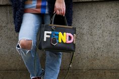 Feast Your Eyes on These Amazing Street Style Handbags From NYFW