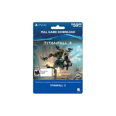 PlayStation 4 Titanfall 2 Full Game $59.99 - Email Delivery
