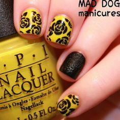 Mustard Yellow Nail Polish Trend 2014 - #Trending Nails   #Trending Nail Art