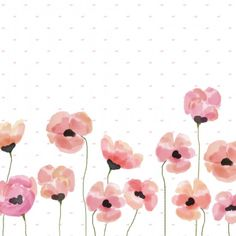 Add a little colour to your screen with this vibrant watercolour poppy desktop wallpaper!