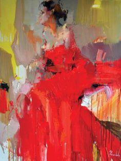 """Saatchi Art Artist Iryna Yermolova; Painting, """"Alexandra II"""" #art"""