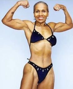 Ernestine Shepherd, 80 year old, slaying to the GAWDS! I am soooooooo inspired. #NotMyPhoto but I #LoveIt #Fitspiration #ToBetterHealth #ExerciseTips #beawomanbodybuilder